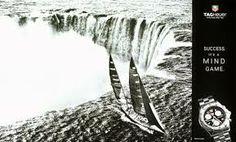 Le voilier Tag Heuer parvient à échapper aux chutes du Niagara.