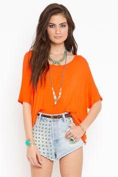 tangerine top $38