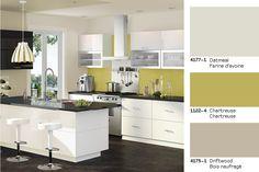 Chartreuse: the must have colour in 2013   Chartreuse: LA couleur tendance de 2013. #paint #peinture #colortrends #tendances_couleurs #palette
