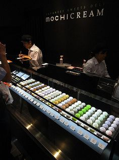 mochi cream | awesome mochi shop in akihabara. these are fil… | Flickr