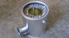 How To Make A Nice Looking $70 Rocket Stove For $5. This Is Totally Awesome, And So Easy To Make!