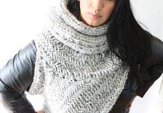 the Katniss cowl / RUSH ORDER  / District 12 / by theLOVEstitch, $175.00