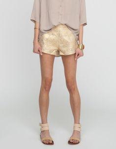 Theo Brocade Shorts
