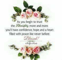 I put all my trust in Allah! Do you?