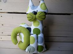 Chat tissu personnalisable