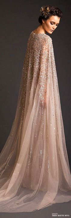 Krikor Jabotian Couture I would wear this around the house and make my family call me Princess Grace. Heehee