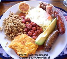 Photos of Typical Colombian Dishes