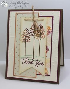 Stampin' Up! Thoughtful Branches for the Totally Techniques Blog Hop – Stamp…