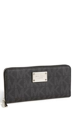 JACK for mom?? MICHAEL Michael Kors 'Jet Set' Zip Around Wallet available at #Nordstrom