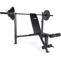 290aa26699a Fuel Pureformance Olympic Bench with 300 lb Weight Set