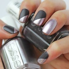 smoking metals - Nail Designs - essie
