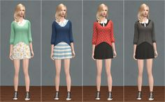 Pullover Dress DOWNLOAD credits: TS3 Store