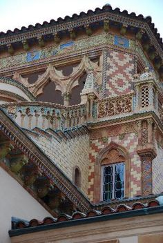 Ca' d'Zan - detail from Ringling summer home