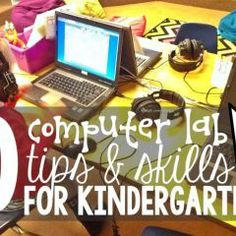 10 Computer Lab Tips and Skills for Kindergarten - KindergartenWorks