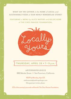 INVITATIONS & SIGNAGE - Jenna McBride : Graphic & Interactive Design