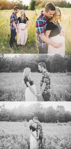 Krista and Jason– {Creative North Carolina Maternity Photography}