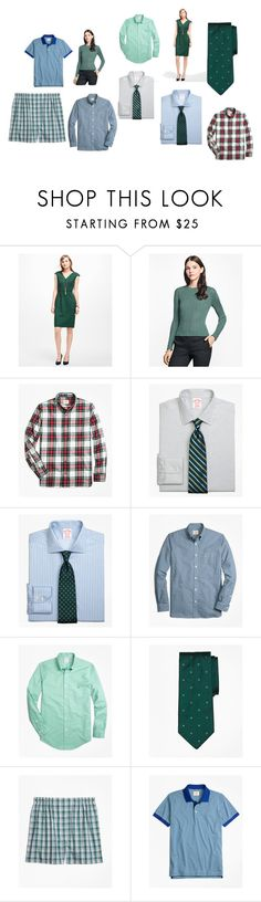 """""""fashion for queens and kings"""" by kristen-stewart-2989 ❤ liked on Polyvore featuring Brooks Brothers"""
