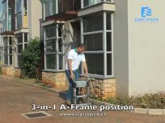 3-in-1 Telescopic Ladder Model: Easy 38A  www.easysteps.co.za