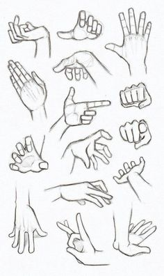 another hand reference how to sheet finger gun flick flicking grabbing hands drawingPractices to draw hands, Made back in summer. In my opinion drawing hands is one of the most important things to grasp when designing characters and jus. Anime Drawings Sketches, Pencil Art Drawings, Manga Drawing, Hand Drawings, Sketches Of Hands, Drawing Art, Figure Drawing, Drawings Of Hands, Human Anatomy Drawing