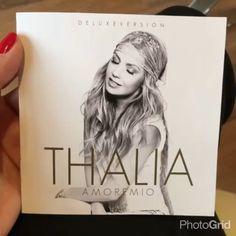 @thalia | En mis manos #AmoreMio Que emoción! Que satisfacción, cuanto amor en cada canción! Me uuuurge que lo tengan! Los amooo! Y ya firmando unos cuantos ;-) #AmoreMio #PorLoQueResteDeVida Finally! My new album is ready to go! Can't wait for you to have it.