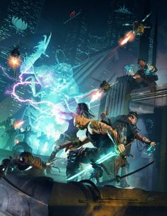 User summary: Quick-start rules for the edition for Shadowrun, including a new adventure for Free RPG Day Spoiled Rotten, and four pre-generated characters. It is bundled together with A Time of War Quick-Start Rules (Free RPG Day 2014 Edition). Character Concept, Character Art, Concept Art, Character Design, Cyberpunk Rpg, Cyberpunk Character, Pegasus, Shadowrun Rpg, Games