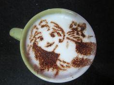 Tangled - Rapunzel - Disney Princess -  Latte Art