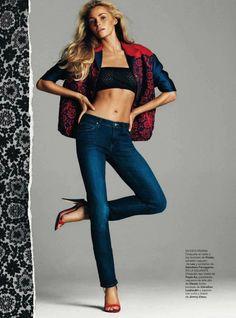Harpers Bazaar Spain Editorial April 2012 - Valentina Zelyaeva by Gonzalo Machado