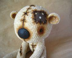 Teddybär Beige häkeln