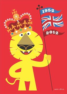 Claude the Lion by Sean Sims, designed for the Queens Jubilee