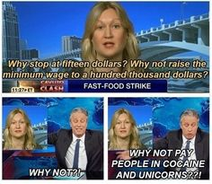 Funny pictures about Salary Idea From Jon Stewart. Oh, and cool pics about Salary Idea From Jon Stewart. Also, Salary Idea From Jon Stewart photos. John Stewart, Funny Images, Best Funny Pictures, Random Pictures, The Daily Show, Can't Stop Laughing, Best Memes, I Laughed, Funny Jokes