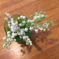 Lilies of the valley—petite yet aromatic