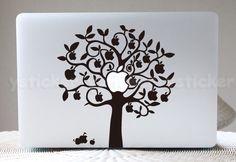 Macbook Decal for MacBook  keyboard  decal MacBook air door ysticker, $8.99