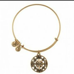 Alex and Ani Harvard University Russian Gold NWT