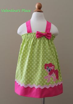 Adorable My little pony Pinkie Pie inspired by Valentinasplace, $29.00