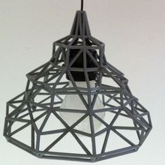 3D Wire lamp, robs_3D Download on https://cults3d.com #3Dprinting