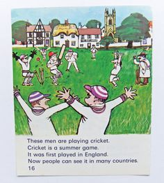 Cricket Picture  #PeonyandThistlePaper