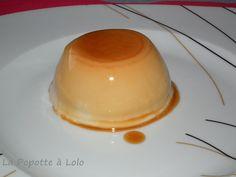 Flamby vanille caramel au thermomix - La popotte à lolo