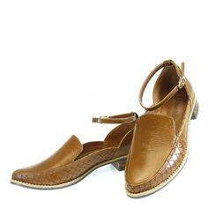 Oxford 2 peças Whisky 1386 Moselle | Moselle sapatos finos femininos! Moselle sua boutique online.
