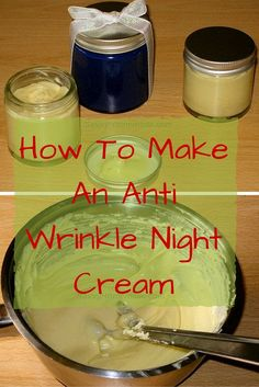 This diy homemade wrinkle cream is fantastic, it's perfect for tackling any aging effects on the skin and it's very easy to make.