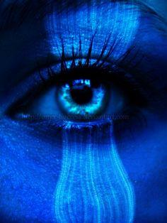 Glowing ~ Blue Eye