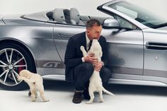 Daniel Craig Has Teamed Up with a Pack of Puppies to Offer You Something Amazing