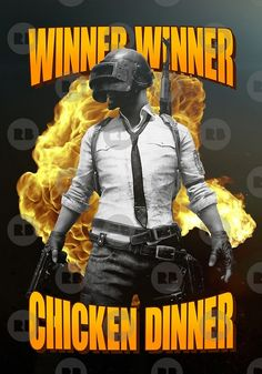 'PUBG Man Glock Deagle Winner Winner Chicken Dinner' by proeinstein - Best of Wallpapers for Andriod and ios Mobile Wallpaper Android, Android Phone Wallpaper, Wallpaper Pc, Wallpaper Downloads, 480x800 Wallpaper, Gaming Posters, Supreme Wallpaper, Winner Winner Chicken Dinner, Fashion Wallpaper