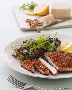 Walnut-Crusted Chicken Breasts - Martha Stewart Recipes