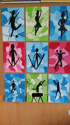 Výsledek obrázku pro zimní městečko ve výtvarce - Melissa Rhode - Gute Pin Art Lessons For Kids, Art Lessons Elementary, Middle School Art, Art School, Art 2nd Grade, Grade 3, Fourth Grade, Club D'art, Classe D'art