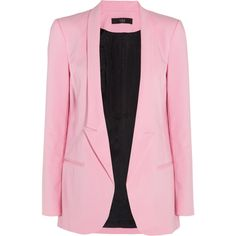 Tibi Tailored cotton-blend blazer ($325) via Polyvore