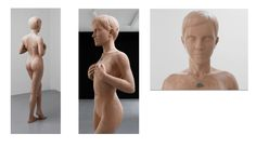 The most awesome use of CNC routing ever, a life-sized nude sculpture of Emma Watson carved into wood.
