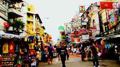 Khoa San Road!!! Khao San Road, Wide World, Chiang Mai, Wet And Dry, Thailand Travel, Phuket, Southeast Asia, Bangkok, Places Ive Been