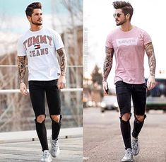 Mens Fashion Casual Wear, Casual Wear For Men, Fashion Wear, Men Looks, Urban Street Style, Young Fashion, Cool Outfits, Menswear, Clothes
