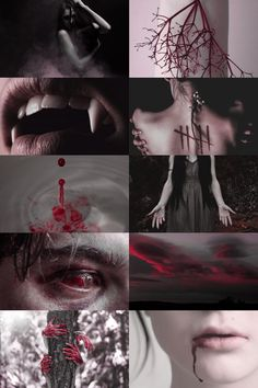 blood mage --- blood witch aesthetic (requested) more here // request here