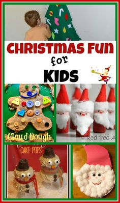 Growing A Jeweled Rose: Christmas Activities for Kids -- features our gingerbread cloud dough! :) oh for you know Holiday week :) Noel Christmas, Winter Christmas, Christmas Gifts, Christmas Projects, Holiday Crafts, Holiday Fun, Christmas Ideas, Christmas Activities For Kids, Craft Activities